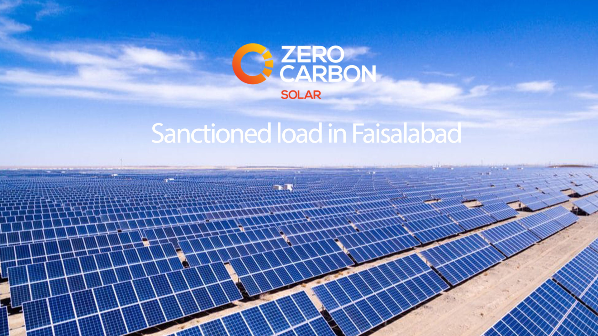 Sanctioned load in Faisalabad
