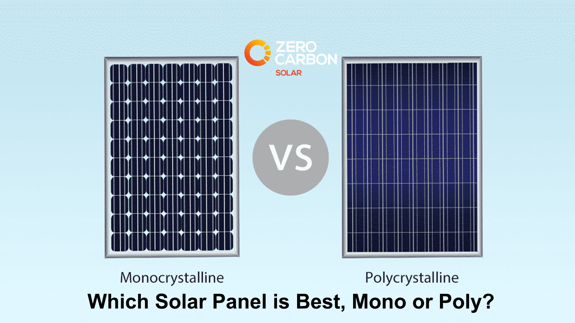 Which Solar Panel is Best, Mono or Poly?