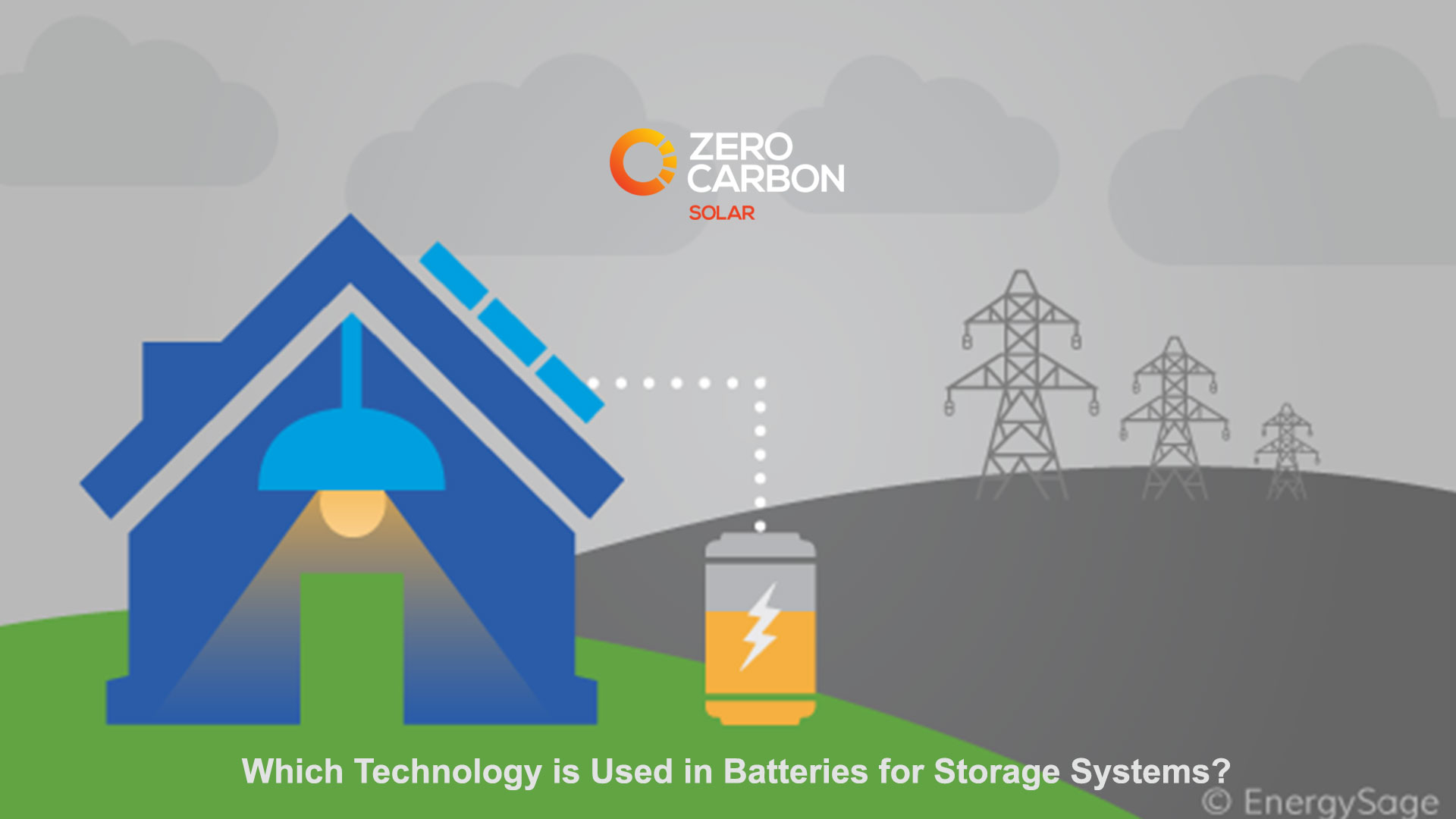 Which technology is used in Batteries for storage systems?